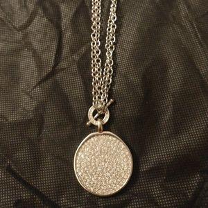 Chicos crystal pendant necklace